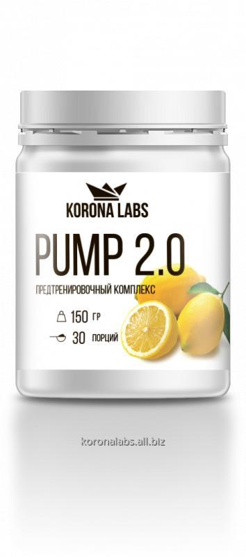 Купить Предтренировочный комплексPUMP 2.0