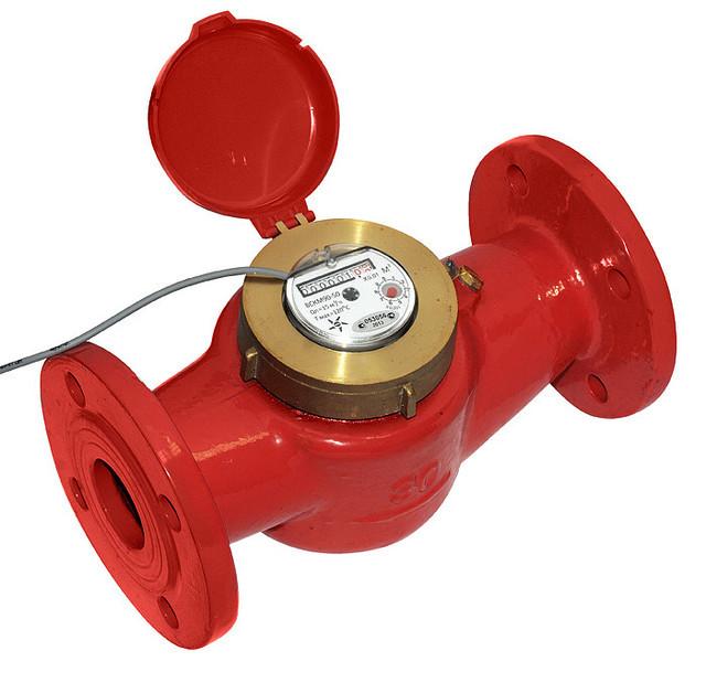 Общедомовой счетчик воды с импульсным выходом ВСКМ 90-50Ф ГД