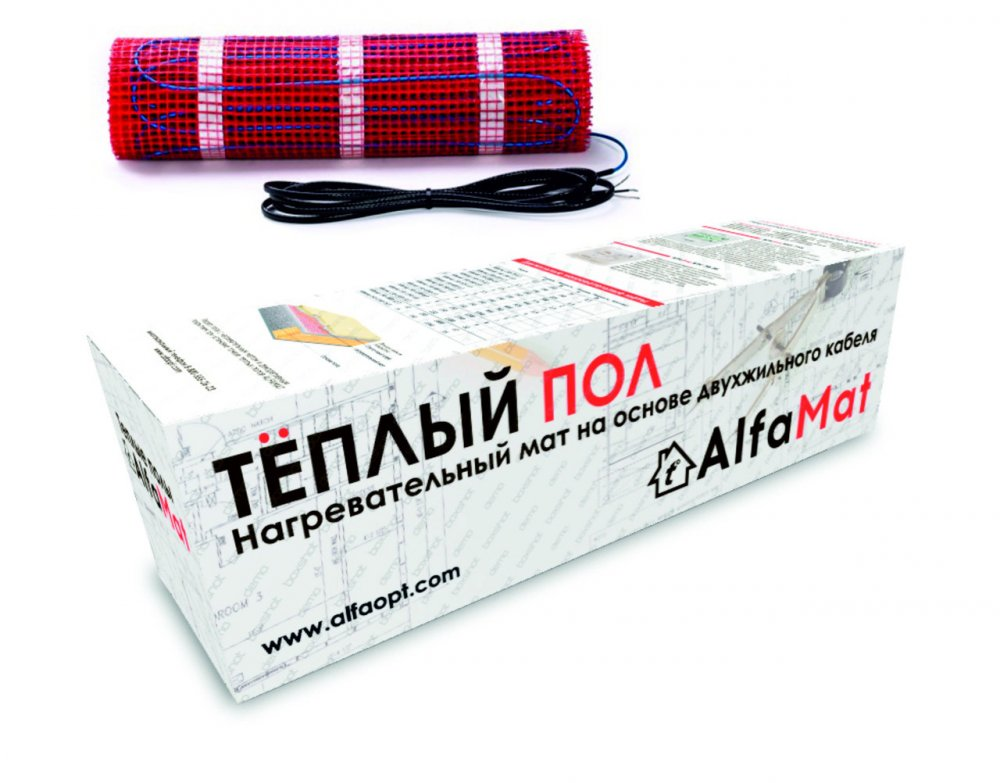 Теплый пол AlfaMat-150 (2,5 м²)