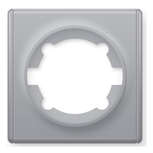 Рамка одинарная, цвет серый (серия Florence)
