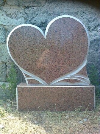 Купить Памятник из красного гранита