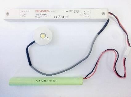Светильник аварийный точечный PL CL 1.2*