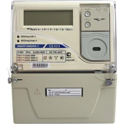 Счетчик электроэнергии Энергомера CE303 S31 746 JAVZ(12)