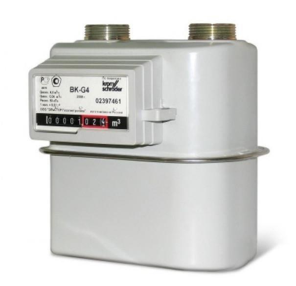 Счетчики газа ВК G1.6; ВК G2.5; ВК G4