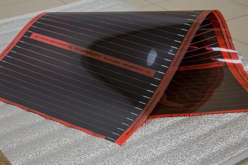 Инфракрасный теплый пол AlfaRedFilm (ширина 0,5м)