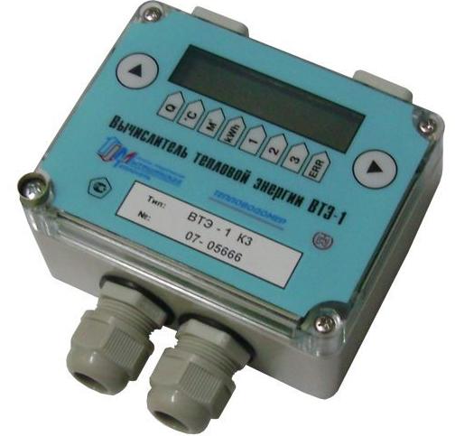 Вычислитель количества теплоты ВТЭ-1 К-3