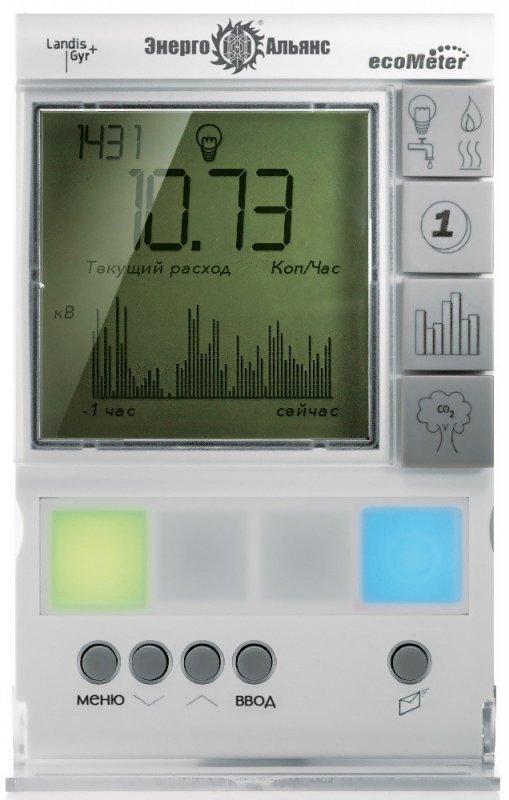 Информационный дисплей абонента ecoMeter P350