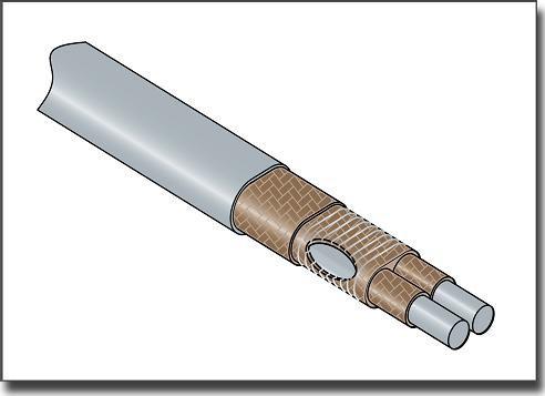 Нагревательный кабель постоянной мощности 15AHT2