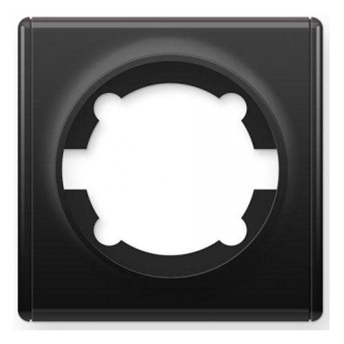 Рамка одинарная, цвет чёрный (серия Florence)