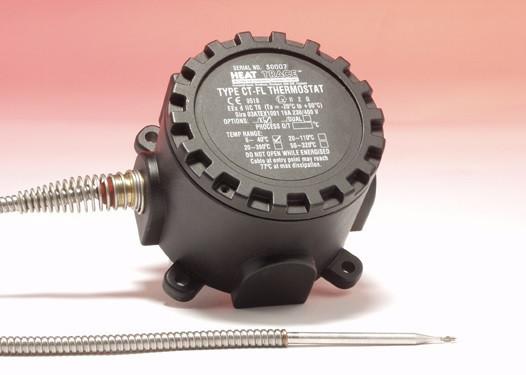 Сдвоенный капиллярный термостат с армированным датчиком CT-FL/2C/C/X/DUAL Capstat