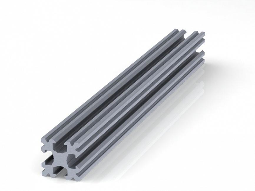 Профиль конструкционный 15 х 15 (ан. серебро)