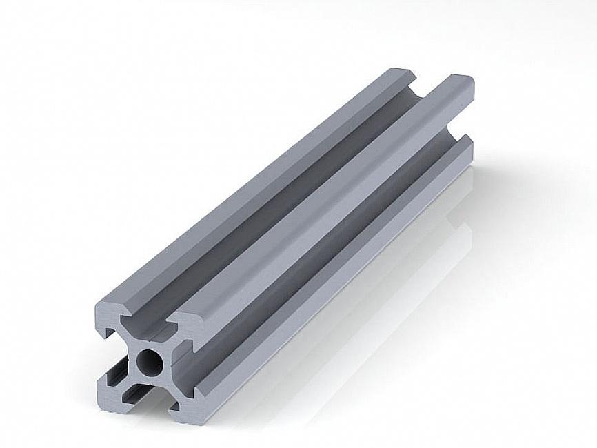 Профиль конструкционный 20 х 20 (ан. серебро)