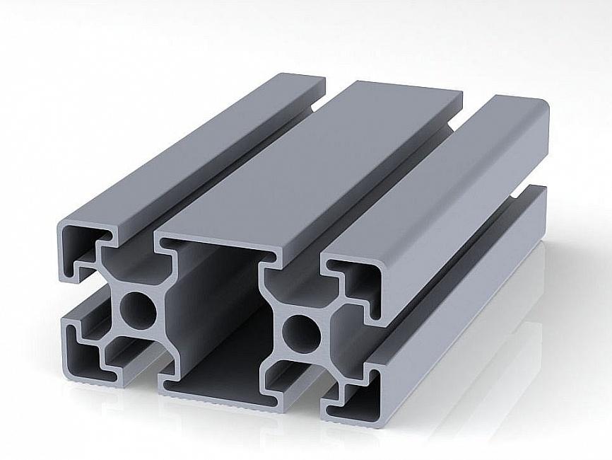 Профиль конструкционный 45 х 90l (ан. серебро) 999-001-01