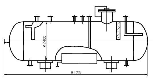 Дегазатор конденсата В-102