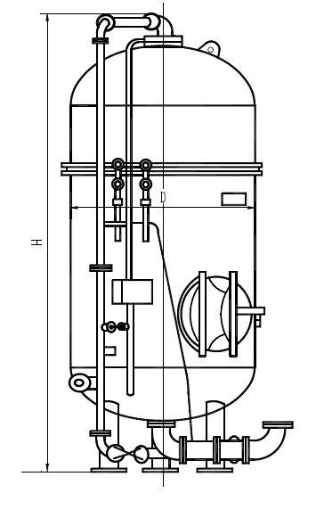 Фильтры ионитные параллельно-точные первой ступени