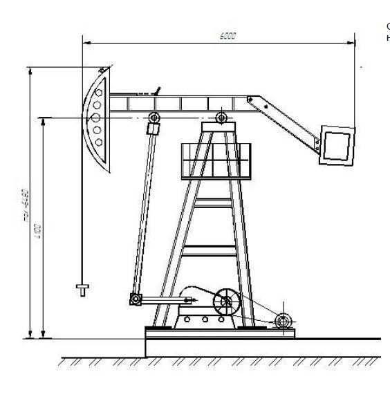 Станок-качалка СК UZ-1-6-2,1-2500