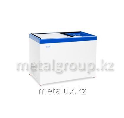 Buy Freezing chest with direct glass blue
