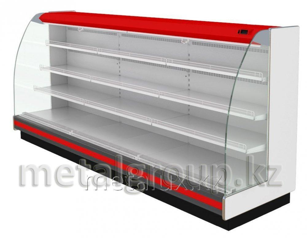 Пристенная холодильная витрина Varshava ВХСп-3,75