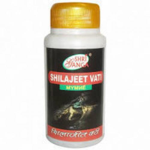 Шиладжит Вати Шри Ганга (Shilajeet Vati Shri Ganga), стимулирует иммунную систему и ускоряет восстановление