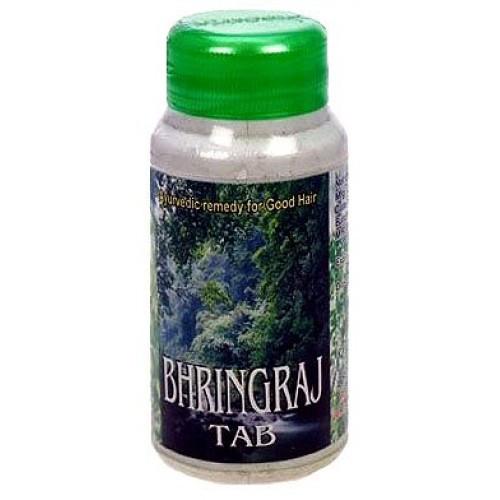 Брингарадж Шри Ганга (Bhringaraj Shri Ganga), 200 таб, природный тоник для волос