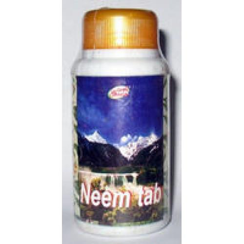 Ним вати Шри Ганга (Neem vati Shri ganga), 20 таб.  антибактериальное, противогрибковое, противовирусное средство