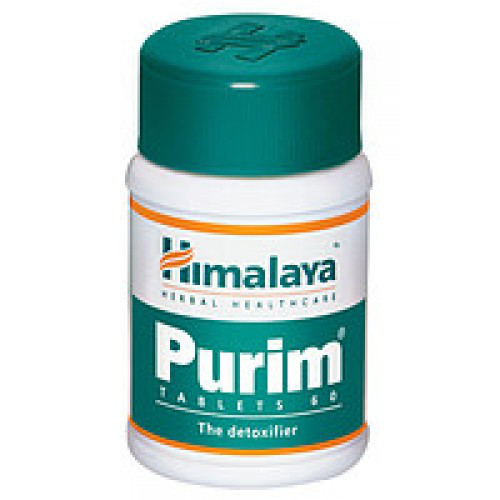 Пурим от кожных проблем 60 таблеток (Purim Himalaya)