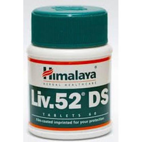 Лив.52 ДС  (Liv.52 DS Himalaya) 60 таб, натуральный гепатопротектор