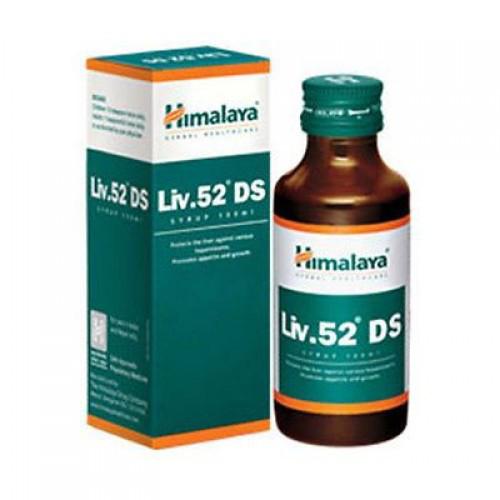 Лив 52 DS (Liv 52 DS Himalaya ) сироп 100мл,  комплексный растительный гепатопротектор