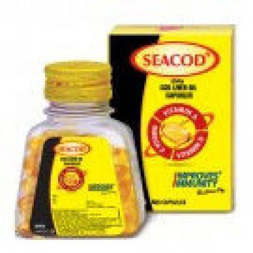 Сикод (Seacod), 110 капсул, масло печени трески содержит Омега- 3 полиненасыщенные жирные кислоты