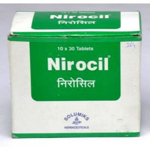 Нироцил, Бхумиамалаки (Nirocil, Bhumyamalaki, Om Pharmaceutical) 30 таб, при различных расстройствах печени