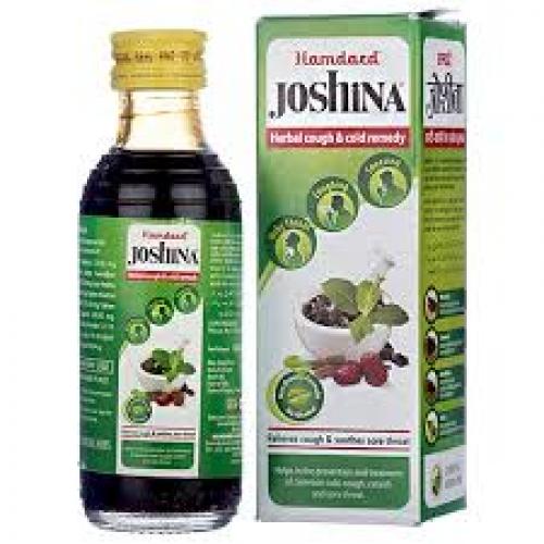 Джошина – Joshina (Hamdard), 100 мл.  при острых и хронических заболеваниях бронхолегочной системы