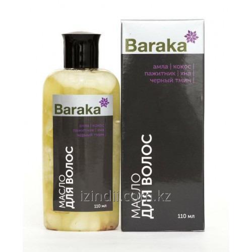 Масло для волос Baraka (Амла) 110 мл, от выпадения, для увлажнения волос