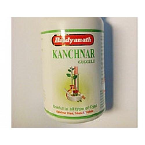 Канчанар Kanchanar гуггул baidyanath, препарат при различных нарушениях работы лимфатической системы.