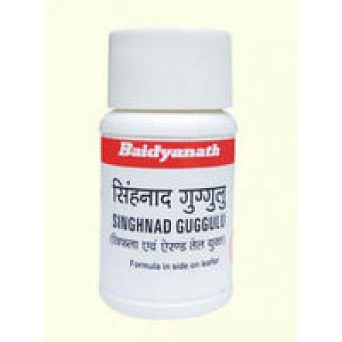 Сингхнади Гуггл  (Singhnad Guggulu Baidyanath), при лечении заболеваний суставов,