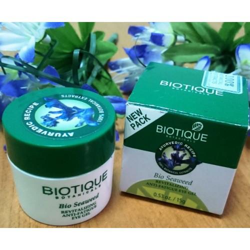 Омолаживающий и тонизирующий гель для век Биотик «Био Водоросли» (Biotique Bio Seaweed), 25 г.