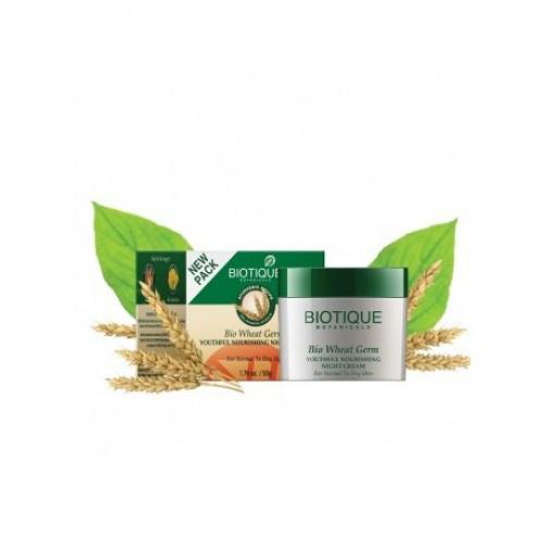 Крем для лица Био Пшеница Biotique Wheatgerm Cream Firming Face & Body