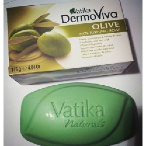 Натуральное мыло с оливой Vatika Dermo Viva 115 г