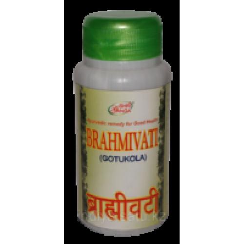 Брами вати Готукола (Brahmi vati Shri Ganga), основное средство для стимулирования и укрепления нервных и мозговых клеток