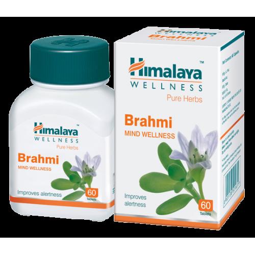 Брахми  (Brahmi Himalaya),  мозговой тоник без побочных эффектов.