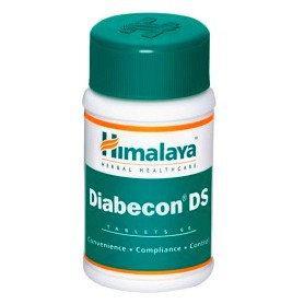 Диабекон ДС (Diabecon DS) Himalaya Herbals 60 таблетки