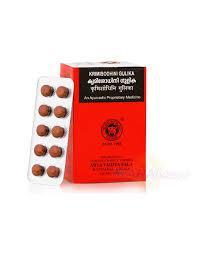 Кримишодхини гулика (Krimisodhini Gulika), 10 таблеток