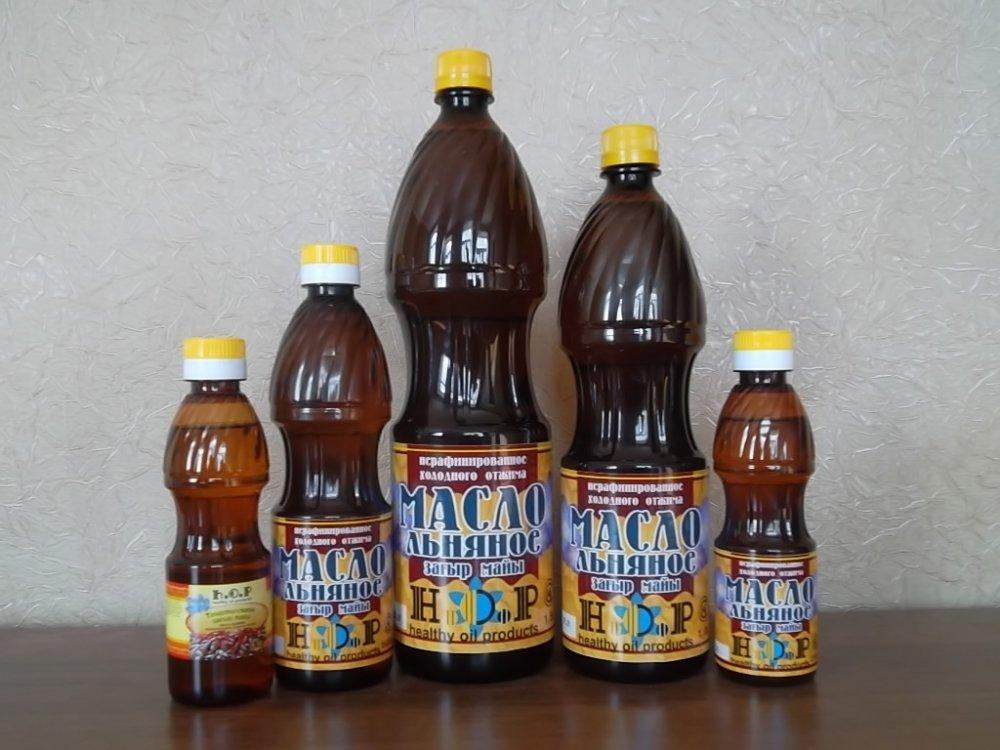 """Купить Льняное масло """"Н.О.Р."""" , 0,5 л."""
