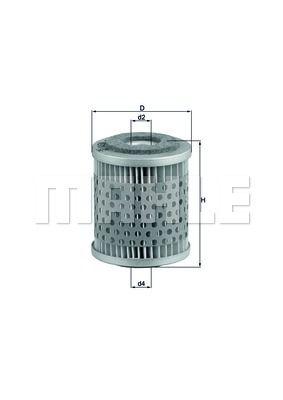 Фильтр топливный спецтехника H=67.0 Knecht KX38 5Q0127177 5Q0127177A 5Q0127177B 81125030039 0008352647