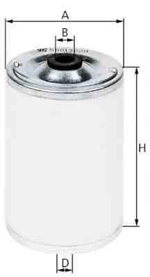 Фильтр топливный (грубой очистки) МБ / Ман KS 50013028 81125030019