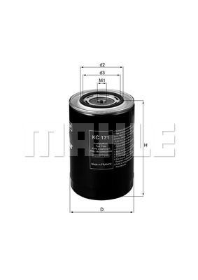 Фильтр топливный Iveco F3AE KS 50014096 KC17-1 2994048 50014096