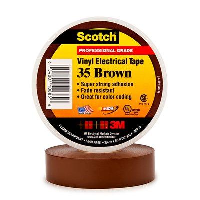 Купить Изолента ПВХ Scotch® 35 Высшего Класса, коричневая