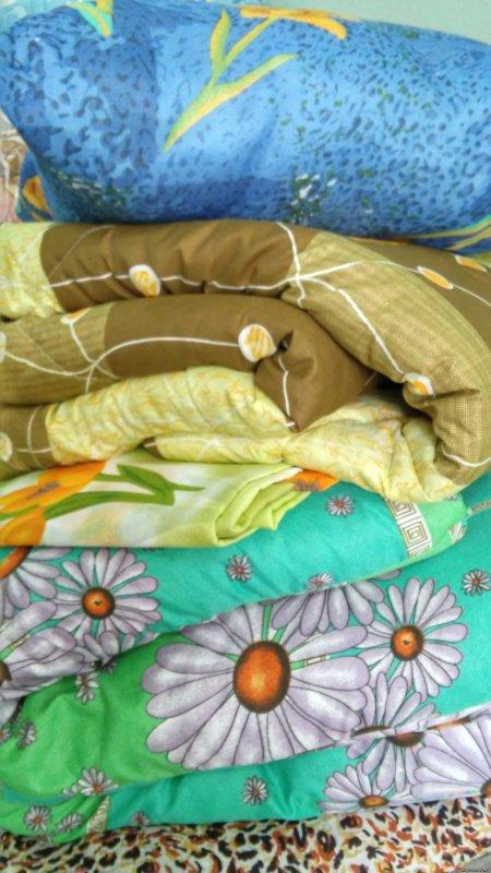 Купить Рабочий комплект для строителей:(подушка,одеяло,матрац,постельное белье)