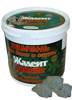 Жадеит - камень для сауны и бани
