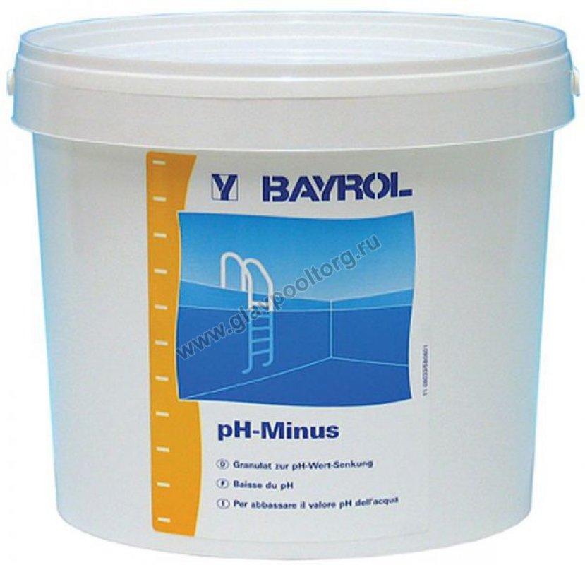 Химия для бассейнов pH минус BAYROL (Германия)
