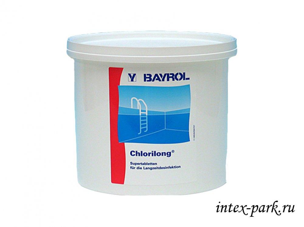 Химия для бассейнов Сhlorilong 5 functions Bayrol (Хлорилонг) Германия